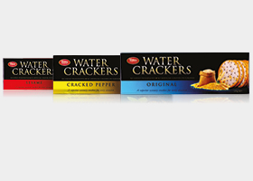Bakers Collection Water Crackers