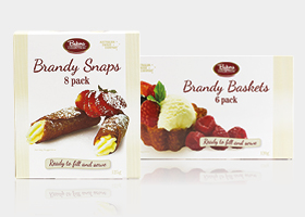 Bakers Collection® Brandy Snaps & Brandy Baskets