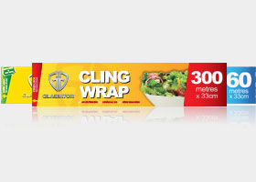 Gladiator Cling Wrap