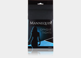 mannequin opaque tights